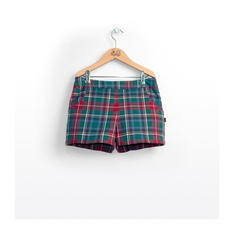 SHORT CUADROS ESCOCES