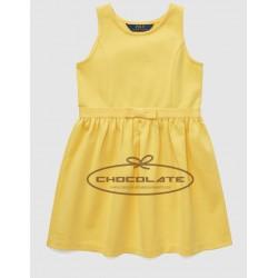 Vestido amarillo de Ralph Lauren