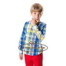Camisa cuadro multicolor Spagnolo