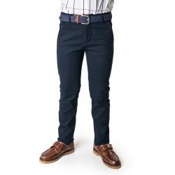 Pantalón niño tipo chino azul marino de Spagnolo