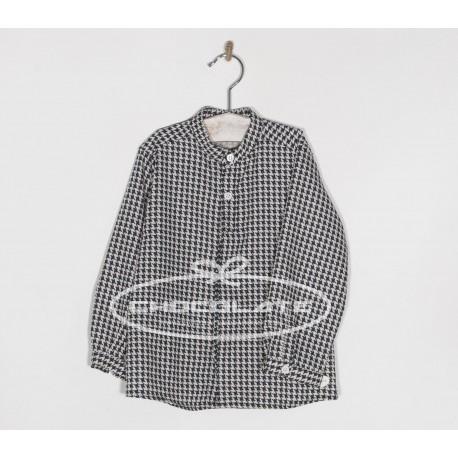 Camisa pata de gallo para niño