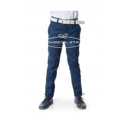 Pantalón azul traje Spagnolo
