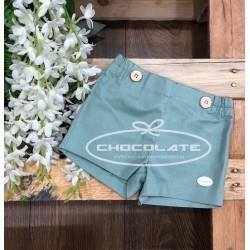 Pantalón corto verde agua Cocote