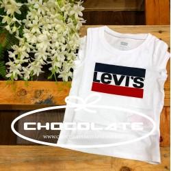 Camiseta Levis kidswear para niña