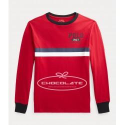 Camiseta roja de Ralph Lauren para niño
